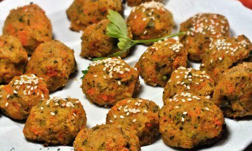 Polpette vegetariane  light di cavolfiore ricetta dietetica