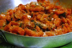 Gnocchi al forno con zucchine e grana