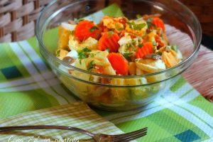 Insalata di patate e moutarde de Dijon