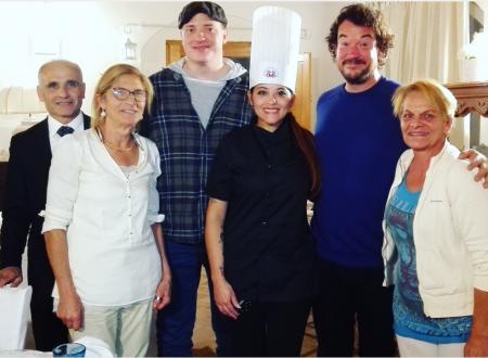 Da Hollywood a Maratea in cucina con Geraldine