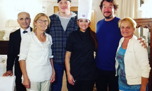 Da Hollywood a Maratea in cucina con Geraldine