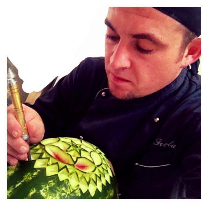 oggi parliamo con lo chef Fabio Feola