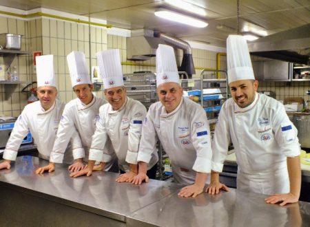 Team Basilicata ai Campionati della Cucina Italiana 2018