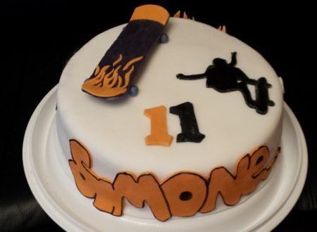 Cakedesign – Torta di compleanno sullo skate