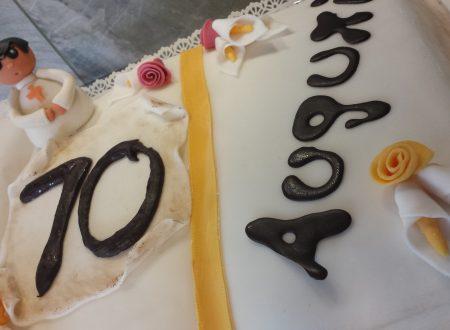 Cake Design – torta libro per un prete