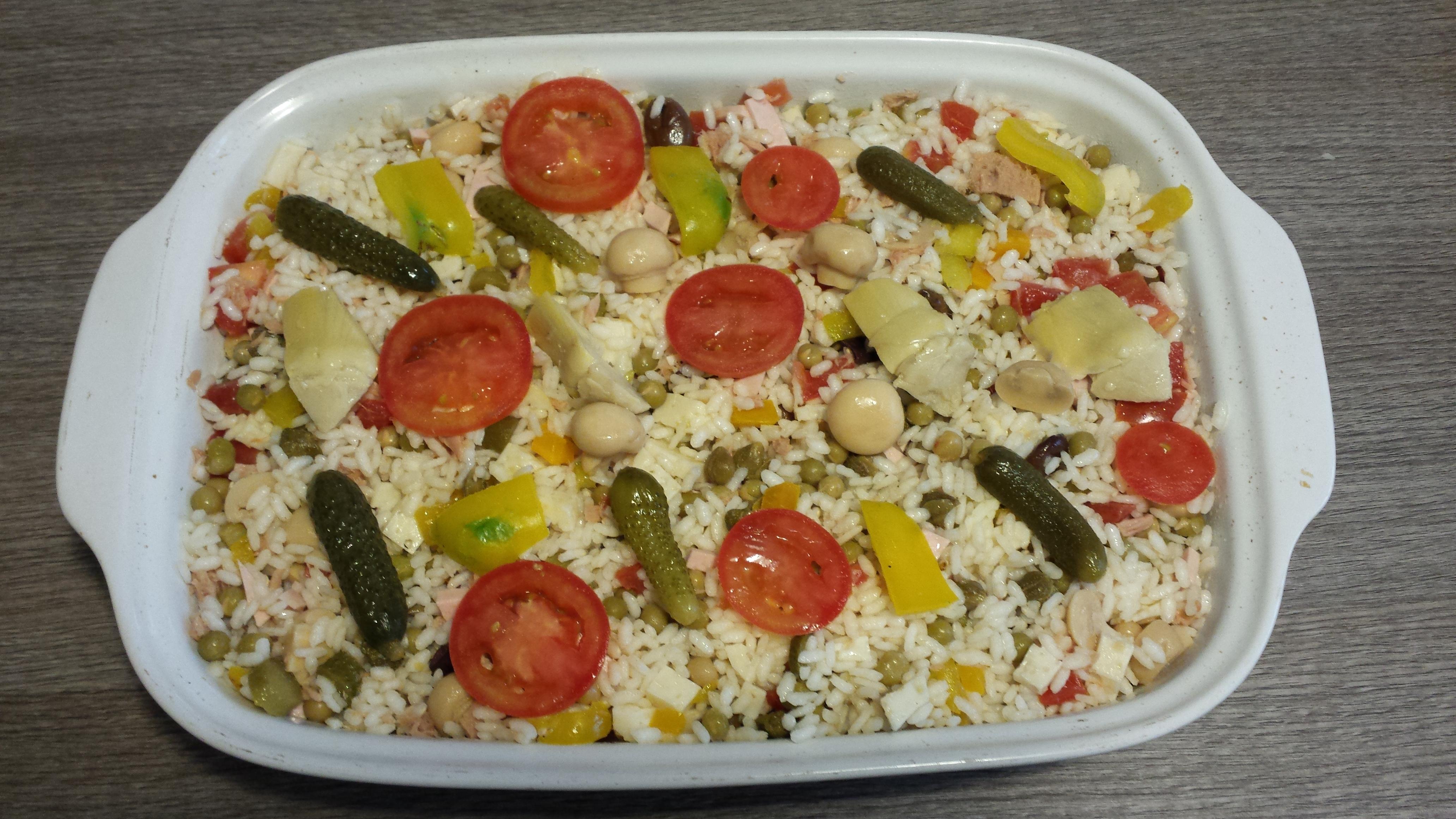 Insalata di riso cosa cucino per cena - Cosa cucino oggi a cena ...