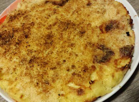 Sformato di patate e stracchino