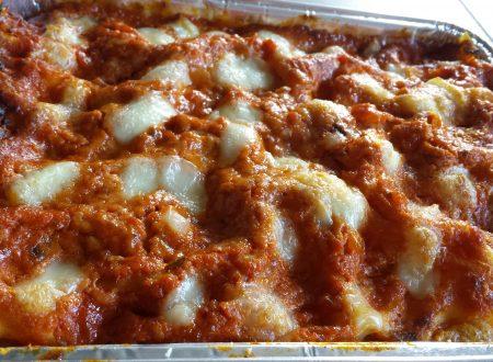 Lasagne rosse al prosciutto