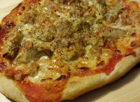 Pizza al forno ed in padella