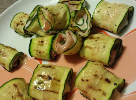 Rotolini di zucchine golose