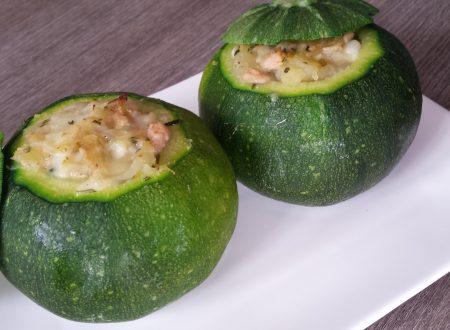Cestini di zucchine patatose
