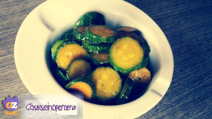 Zucchine allo zafferano