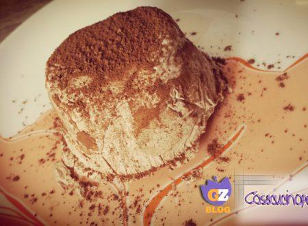 Tartufo gelato al cioccolato