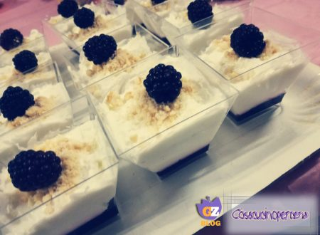 Cheesecake scomposta