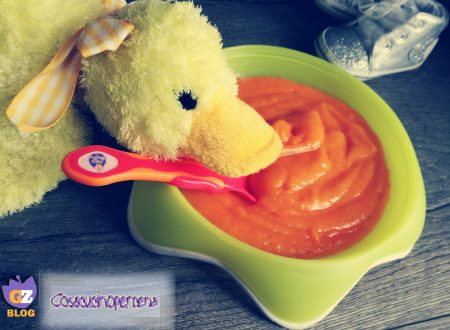 Vellutata di carote per lo svezzamento