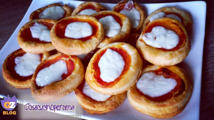 Pizzette con sfoglia alla robiola cosa cucino per cena - Cosa cucino oggi a cena ...