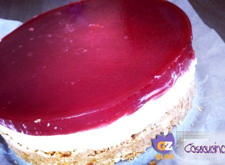 Cheesecake con gelatina ai frutti rossi