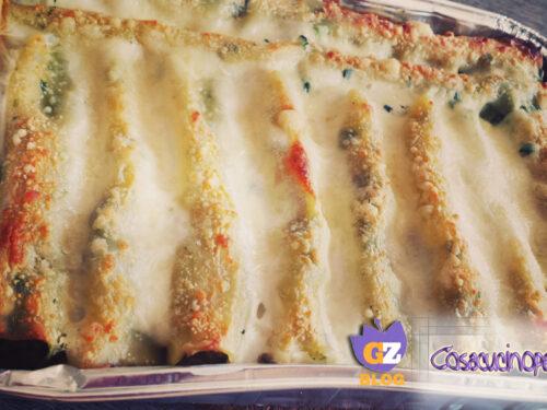 Cannelloni agli spinaci e carne