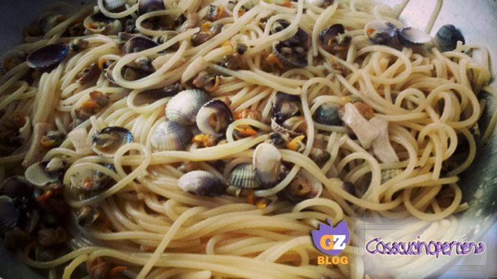 Spaghetti con le arselle