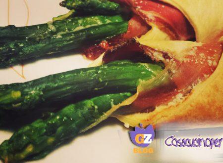 Involtini asparagi e speck
