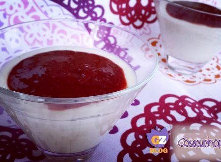 Biancomangiare vaniglia e more rosse