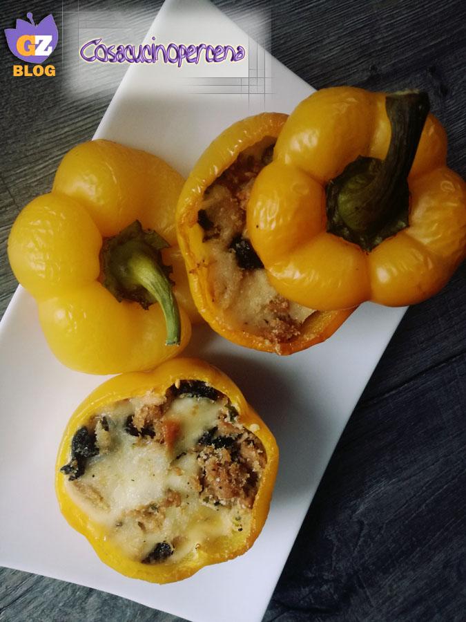 Peperoni ripieni di tonno ed olive