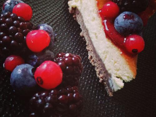 Crostata cheese ai frutti di bosco