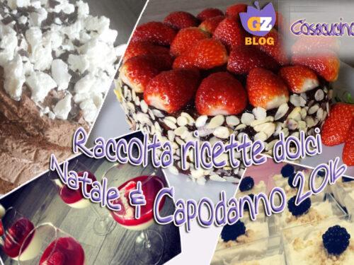 Raccolta di dolci per Natale e Capodanno 2016