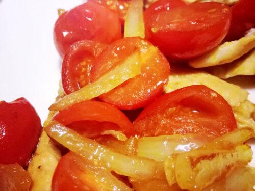 Scaloppine ai pomodorini