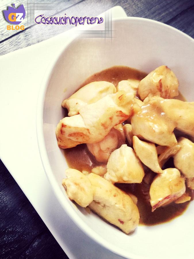 Pollo al curry al latte di cocco