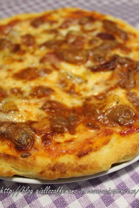 Impasto per una pizza croccante