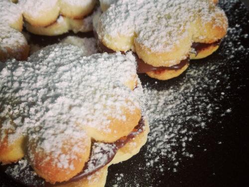 Biscotti al cocco e Nutella