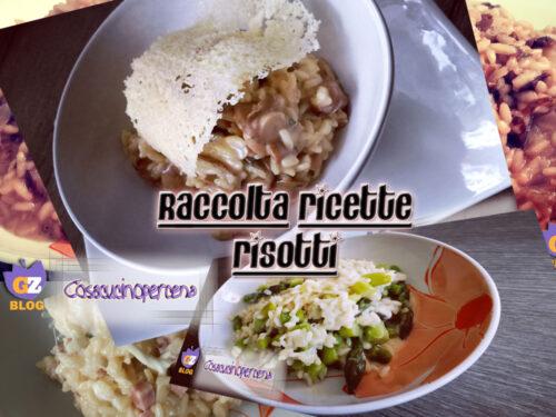 Raccolta ricette di risotti