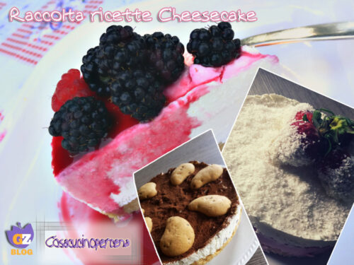 Raccolta ricette cheesecake