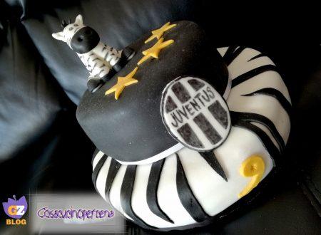 Torta della Juventus a piani