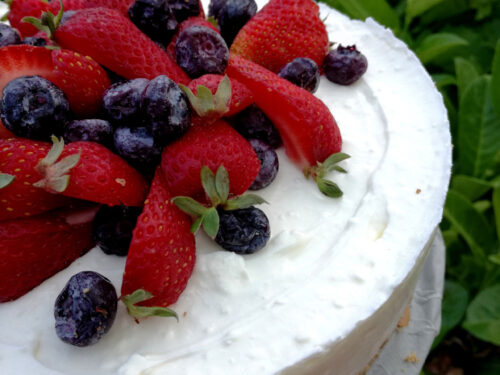Yogurt Cake ai frutti