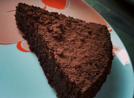 Torta tartufata al cioccolato e rum