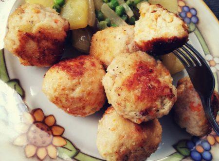 Polpette di pollo saporite