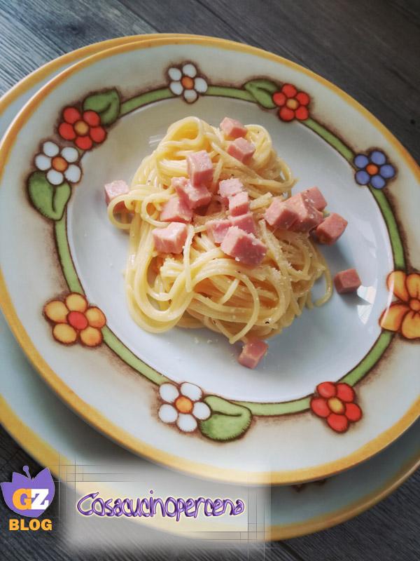 Pasta Alla Papalina Cosa Cucino Per Cena