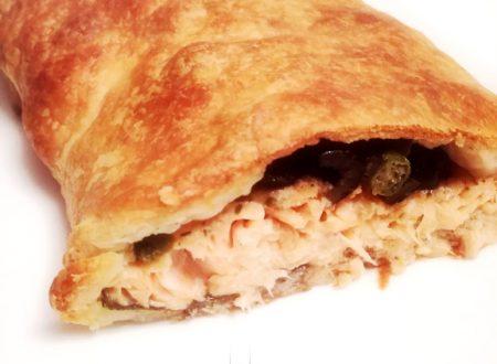 Filetto di trota salmonata in crosta