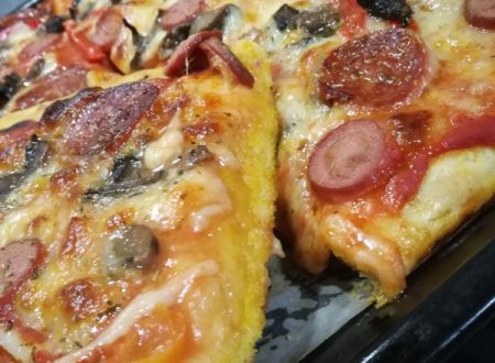 Impasto pizza allo zafferano