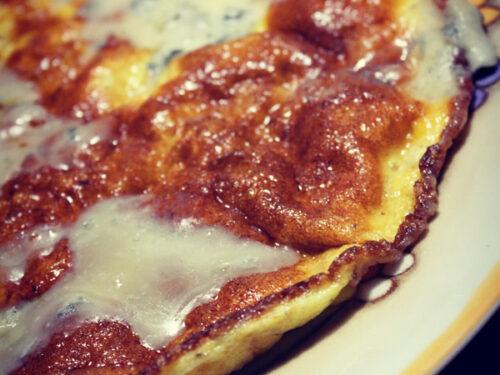 Frittata al gorgonzola