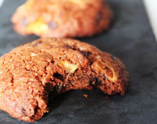 Biscotti al cioccolato e mele super morbidi