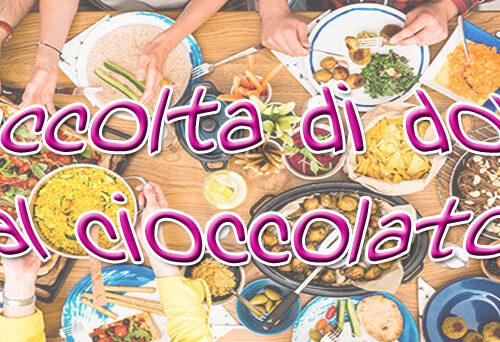Raccolta di dolci al cioccolato