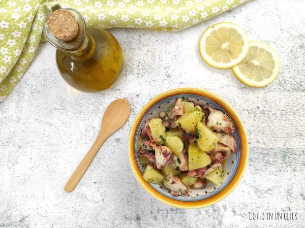 insalata di polpo e patate