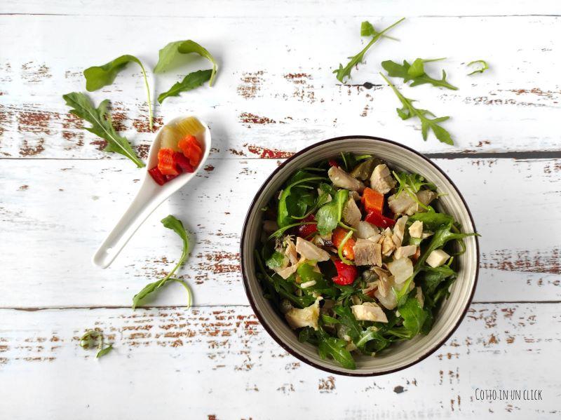 insalata di pollo ricetta riciclo e svuotafrigo