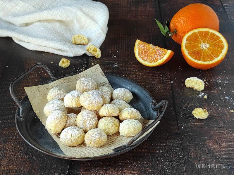 biscotti morbidi all'arancia ricetta semplice