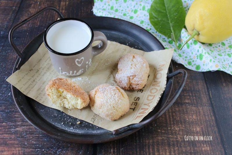 biscotti al limone perfetti da inzuppare nel latte o nel tè