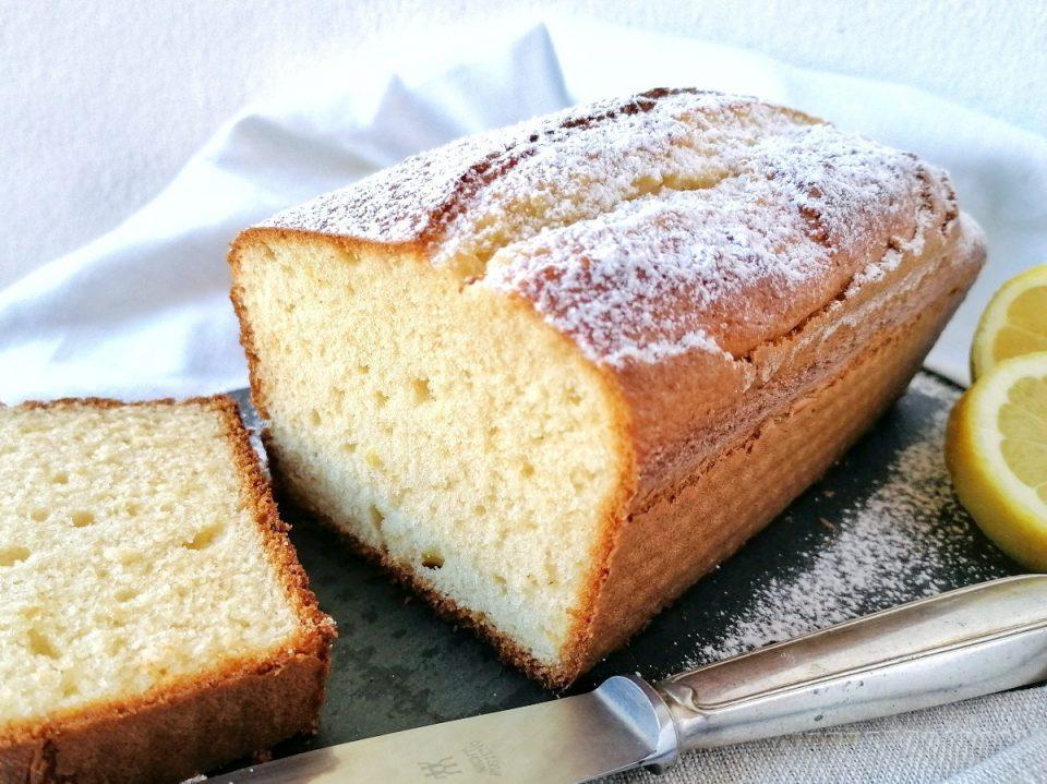Plumcake soffice panna e limone