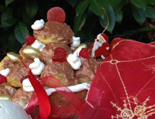 profiteroles di Natale